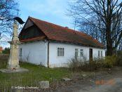 fot. nr 3. Gdów ulica Bocheńska dom pod nr 182