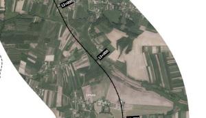 Zdjęcie nr 3 - linia kolejowa przez gminę Gdów