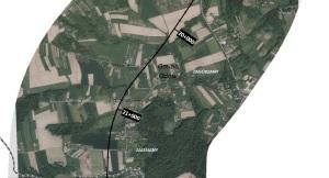 Zdjęcie nr 7 - linia kolejowa przez gmine Gdów