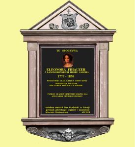 Projekt Epitafium Eleonory Lanckorońskiej