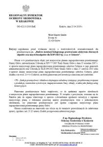 Pismo do gminy
